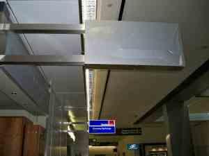 Petunjuk lokasi kantor CBP, San Fransisco Airport